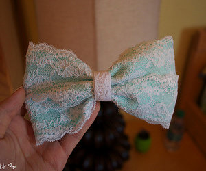 cute, bow, and fashion image