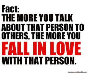 love, quote, and fact image