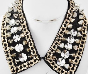 necklace, spike necklace, and spikes image