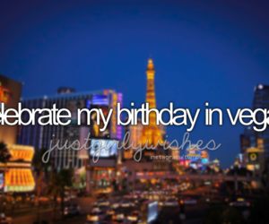 vegas and birthday image