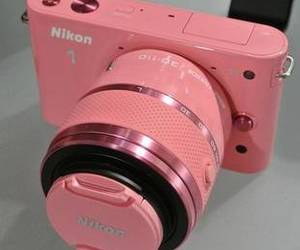 camera, digital, and nikon image