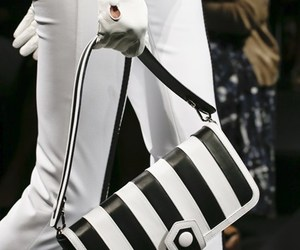 black and white, marc jacobs, and Moschino image