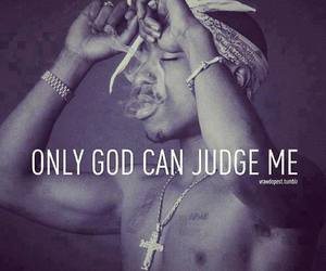god, 2pac, and tupac image