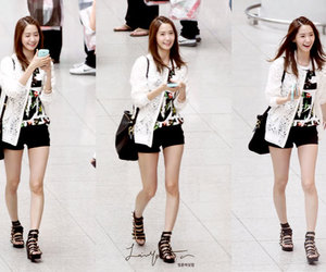 fashion, incheon airport, and cute image