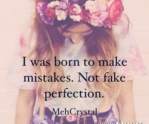 girl and mistakes image