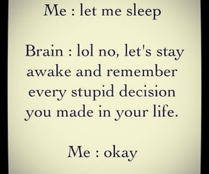 sleep, brain, and quotes image