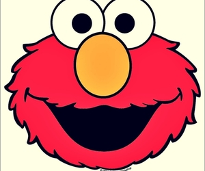 elmo and red image
