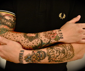 tattoo and arms image