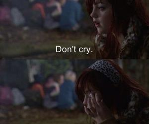 cry, girl, and movie image