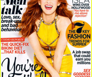 actress, isla fisher, and cover image