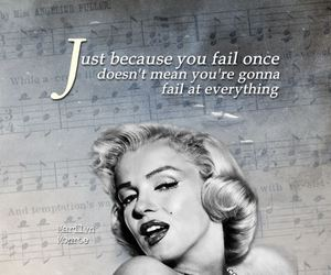 quote and Marilyn Monroe image