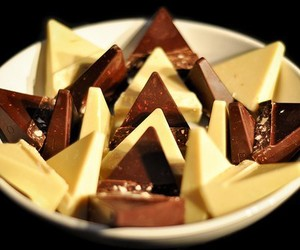 chocolate, food, and toblerone image