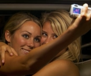 blonde girls, friendship, and Laguna Beach image