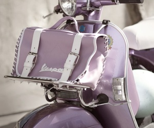 purple, retro, and Vespa image