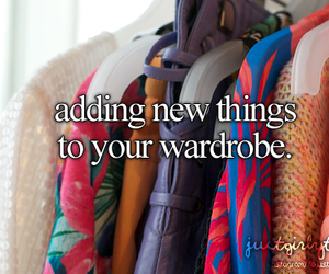 wardrobe, clothes, and just girly things image