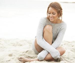 beach, lauren conrad, and sand image