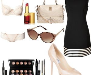 dress, Polyvore, and underwear image