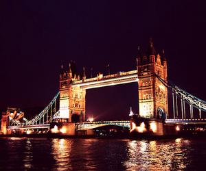 city, photo, and bridge image