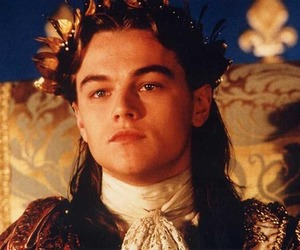 1998, leonardo dicaprio, and man in the iron mask image