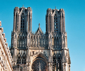 france, gothic, and notre dame image