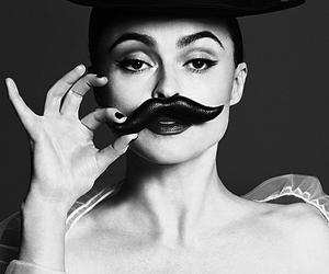 black and white and helena bonham carter image