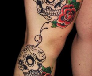 perna, tatto, and coxa image
