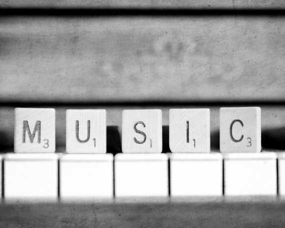 Spell Music Black And White Photography By Kimberosephotography