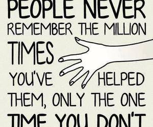 quotes, people, and help image