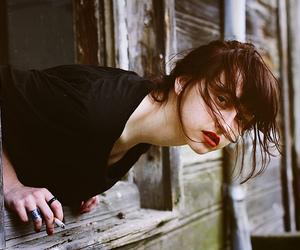 girl, cigarette, and Elif Karakoc image