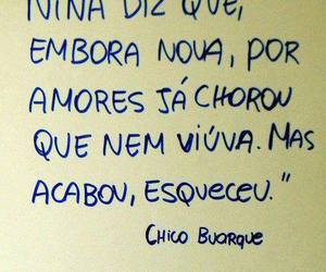 chico buarque and text image