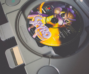 old, play station, and ps1 image