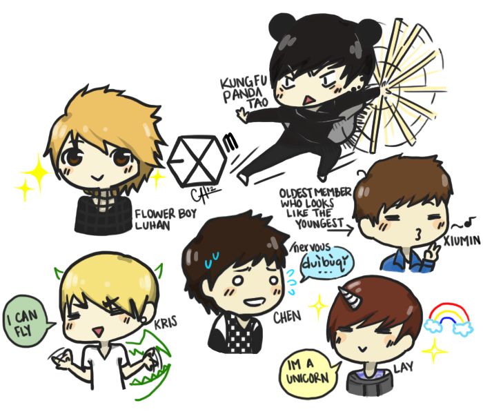 Exo M By Sasoriluver101 On Deviantart On We Heart It