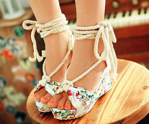 shoes, summer, and cute image