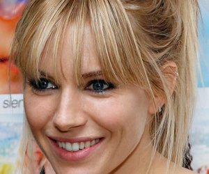 hair, ponytails, and sienna miller image