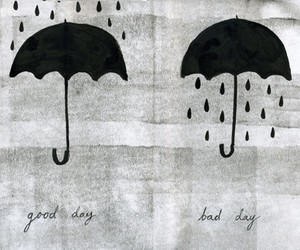rain, umbrella, and good image