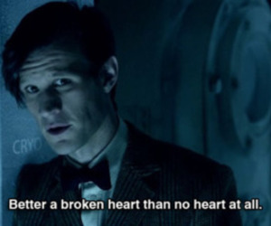 doctor who, broken heart, and heart image