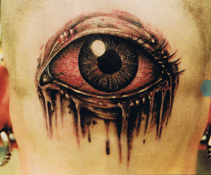 tattoo, eye, and eyes image