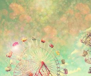 ferris wheel and sky image