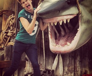 funny, hot guys, and joey graceffa image
