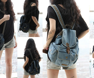 backpack and jeans image