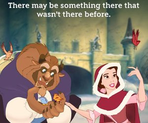 disney, beauty and the beast, and love image