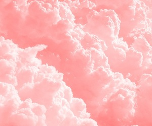 background, love, and clouds image