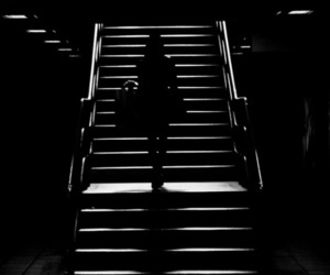 black, photography, and way out image