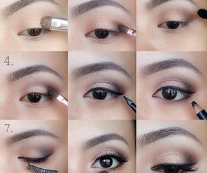 makeup, make up, and tutorial image
