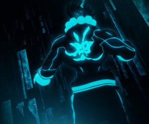 character, illustration, and tron image