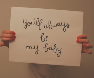 adorable, baby, and cursive image