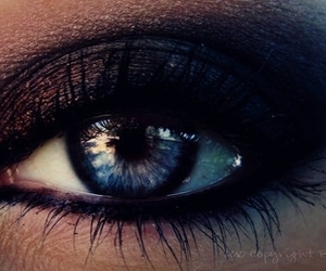 eyes, eye, and makeup image