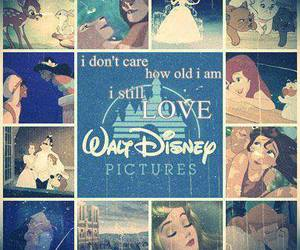 disney, princess, and walt disney image