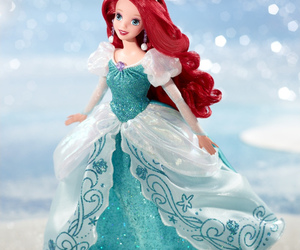 ariel, disney, and doll image