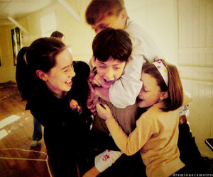 anna popplewell, georgie henley, and skandar keynes image